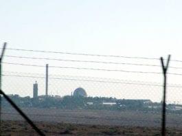 Israels atomanlegg i Dimona i Negev. (Arkivfoto: Conrad Myrland, MIFF)