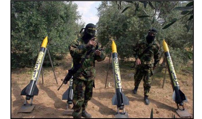 Hamas ruster opp på Gaza-stripen. Foto: Flickr/Creative Commons/Marsmet543.