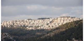 Et festlokale i denne jødiske bydelen i Jerusalem, Har Nof, skal ha vært et planlagt terrormål i nær fremtid. Foto: Wikipedia.