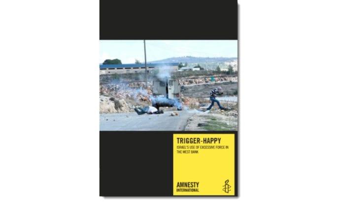 Forsiden til Amnestys nye rapport.