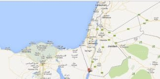 Taba ligger i Sinai, like sør for Eliat og ved grensen til Israel. (Foto: Google Maps via Ha'aretz)