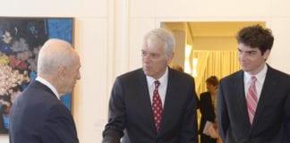 Lars Faaborg-Andersen er EUs ambassadør i Israel. (Foto: GPO)