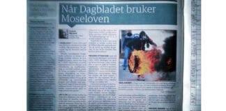 Faksmile fra Dagbladet onsdag 5. mars 2014.
