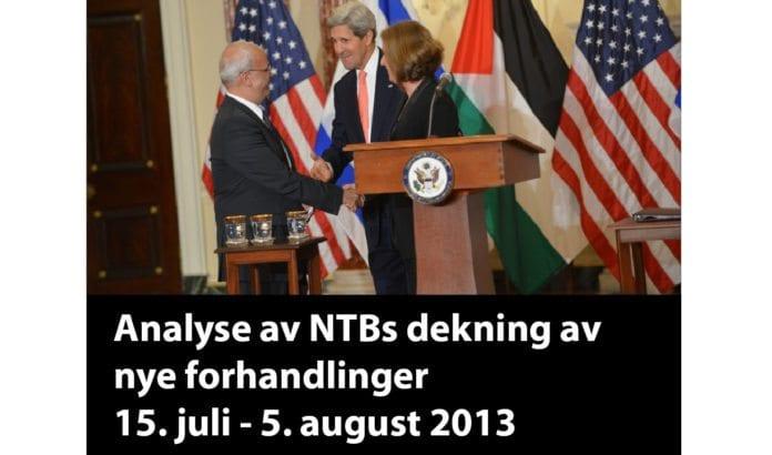 Les MIFFs analyse av NTBs dekning i perioden 15. juli til 5. august 2013.
