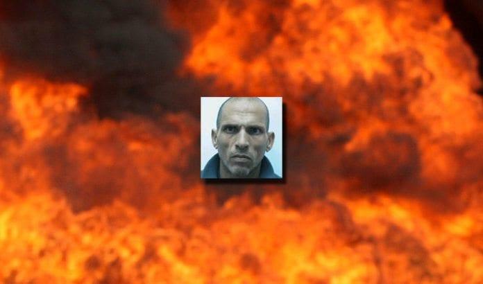 Aziz Musa Uwisat forteller i forhør at han planla å ramme jøder i en framprovosert gasseksplosjon for å hevne jødiske besøk på Tempelplassen. (Foto: Shin Bet via Jpost.com)