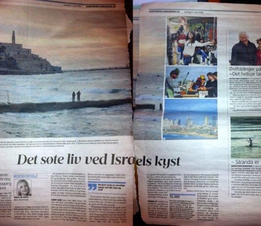 Faksmile fra Sarpsborg Arbeiderblad lørdag 15. mars 2014.