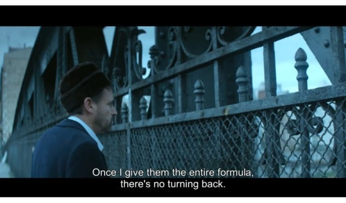 Skjermdump fra filmen Operation Sunflower.