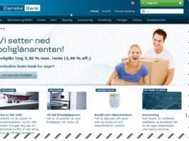 """Danske Bank bryter artikkel 7 i menneskerettighetserklæringen, som sier: """"Alle er like for loven og har uten diskriminering rett til samme beskyttelse av loven."""" (Skjermdump fra Danske Banks nettside)"""