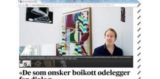 Skjermdump fra Aftenposten.no.