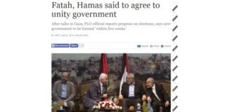 Skjermdump fra timesofisrael.com 23. april 2014.