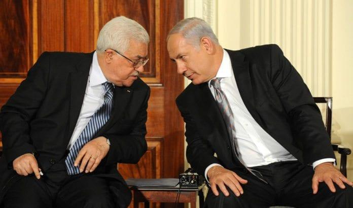 Mahmoud Abbas og Benjamin Netanyahu avbildet sammen i Det hvite hus i 2010. Foto: Moshe Milner, GPO / Flickr.com.