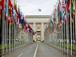 FN-bygningen i Geneve. (Illustrasjonsfoto: Wikimedia Commons.)