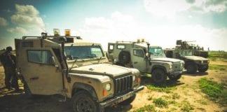 Soldater fra IDF patruljerer ved Gaza-grensen. (Illustrasjonsfoto: IDF.)