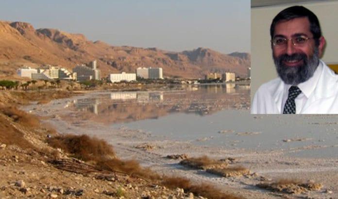Dr. Marco Harari leder medisinsk rehabilitering ved Dødehavet. (Foto: Dødehavsklinikken / ADSSC.)