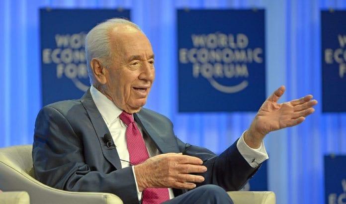 Israels president Shimon Peres. (Foto: Urs Jaudas, World Economic Forum)
