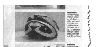 Faksmile fra Aftenposten 4. mai 2014.