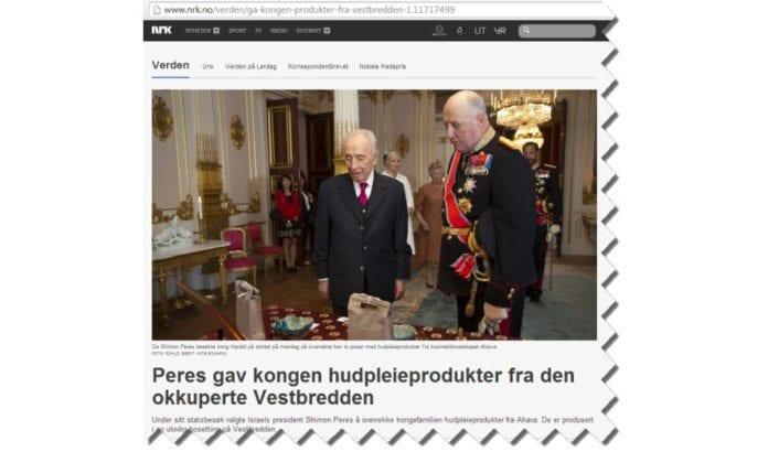 Skjermdump fra Nrk.no 15. mai 2014.