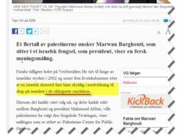Skjermdump fra VG.no kl. 12.30 lørdag 24. mai 2014.