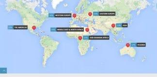 ADL Global 100 er den første verdensvide holdningsundersøkelsen om antisemittisme. (Foto: Skjermdump fra Global100.adl.org.)