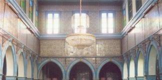 El Ghriba-synagogen på Djerba. (Foto: Wikimedia Commons)