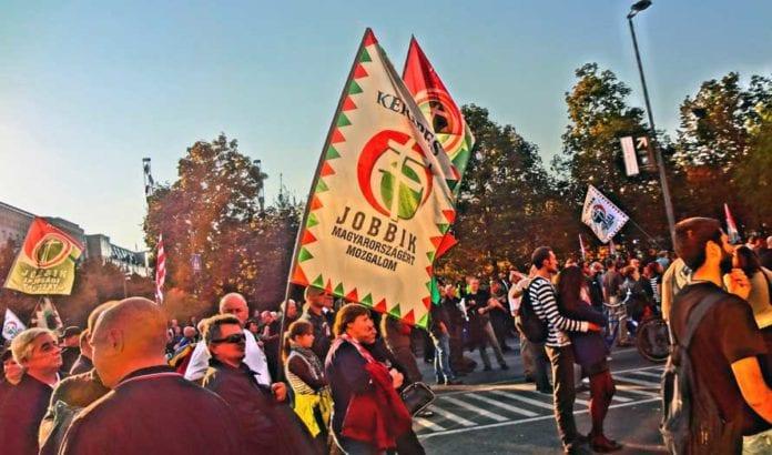 Det ungarske partiet Jobbik er blant de høyreekstreme partiene som etter søndagens valg er representert i Europaparlamentet. (Illustrasjonsfoto: Wikimedia Commons.)