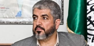 Hamas' øverste leder Khaled Mashaal. (Foto: Wikipedia)