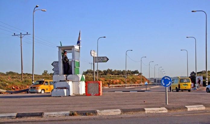 Kontrollposten Tapuah. (Illustrasjonsfoto: Wikipedia.)