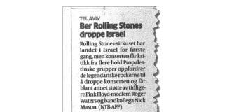 Faksmile av Aftenposten 5. juni 2014.