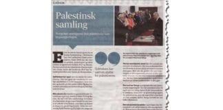 Faksmile av Fædrelandsvennens lederartikkel 5. juni 2014.