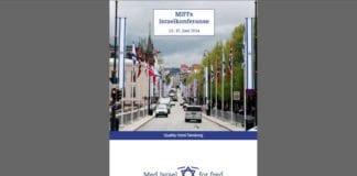 Forsiden på MIFFs landsmøtepapirer i 2014. (Forsidefoto: Tor-Bjørn Nordgaard)