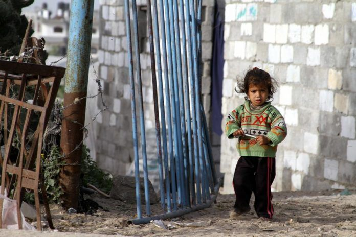 En liten palestinsk jente i Beit Lahiya. Bildet ble tatt i 2010. (Illustrasjonsfoto: J McDowell, flickr.com)