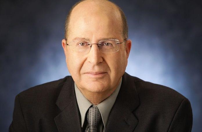 Israels forsvarsminister Moshe Ya'alon.