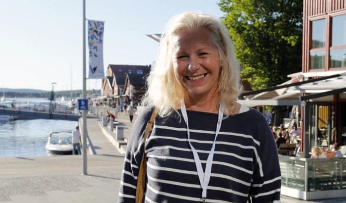 Astrid Salvesen Shwartz. (Foto: Tor-Bjørn Nordgaard)
