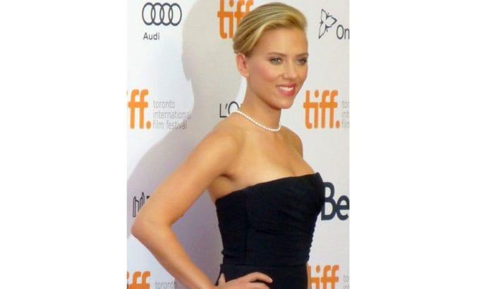 Skuespilleren Scarlett Johansson er internasjonal ambassadør for SodaStream. (Foto: Toronto Film Festival, Wikimedia Commons)
