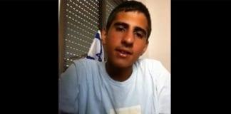 17 år gamle Mohammad Zoabi sto opp mot terroristene på YouTube. (Foto: Skjermdump fra YouTube)