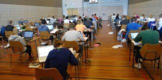 Israelske myndigheters utsletter Gaza, skrev en elev på norskeksamen 28. mai. Elevene på bildet har ingenting med eksamenen eller eksamensbesvarelsen å gjøre. (Illustrasjonsfoto: Leif Harboe, flickr.com)