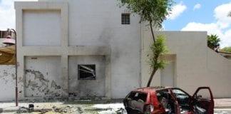 Hamas-rakett var nære ved å treffe en bolig i Ashdod i går. (Foto: Israel Ministry of Foreign Affairs, flickr.com)