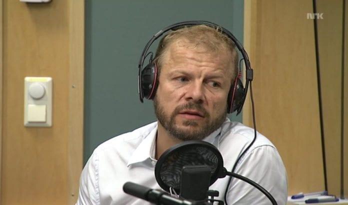 SVs stortingsrepresentant Heikki Holmås. (Skjermdump fra NRK)