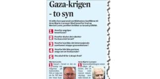 Faksmile fra Adresseavisen 15. juli 2014.