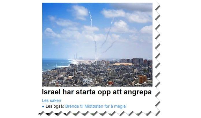 Skjermdump fra Nrk.no tirsdag ettermiddag 15. juli 2014.