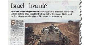 Faksmile fra Fædrelandsvennen 16. juli 2014.