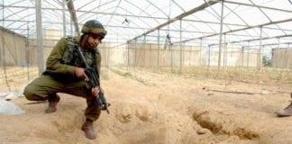 Denne tunnelen ble oppdaget mot grensen til Egypt i 2006. (Illustrasjonsfoto: IDF, flickr.com)