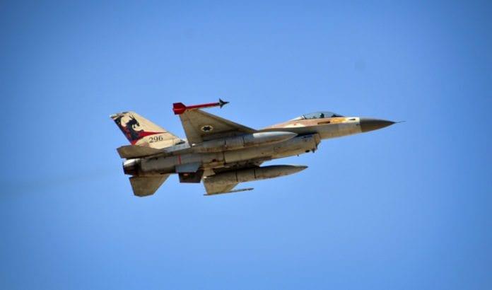 Jagerfly fra det israelske luftvåpenet. (Illustrasjonsfoto: IDF)