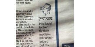 Dette sto på trykk i Stavanger Aftenblad lørdag 19. juli. (Foto: Faksimile fra avisen)
