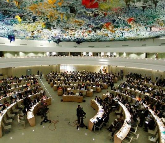 FNs menneskerettighetsråd i Geneve. (Illustrasjonsfoto: FN)