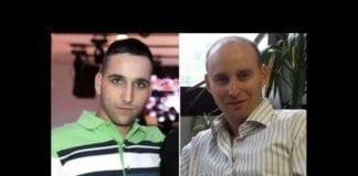 Adar Barsano (20) og Amotz Greenberg (45) ble drept av Hamas-terrorister lørdag 19. juli. (Foto: Privat)