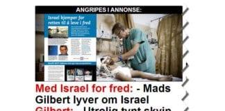 MIFF har aldri hevdet at Mads Gilbert lyver om Israel, men vi har påpekt at det ikke finnes spor av hans påstander i en lang rekke andre kilder. (Skjermdump fra Dagbladet.no 19. juli 2014)