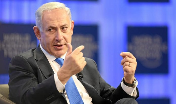 Israels statsminister Benjamin Netanyahu. (Foto: Jolanda Flubacher, WEF)