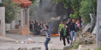 Palestinske opptøyer på Vestbredden. (Illustrasjonsfoto: IDF)