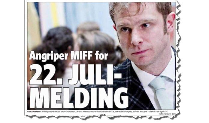 Faksmile fra Dagbladet 6. august 2014.